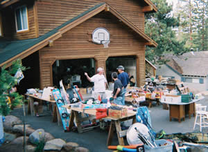 Yard sale permits are required in Big Bear Lake.