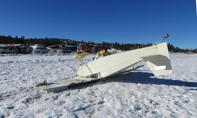 Aircraft Accident Under Investigation