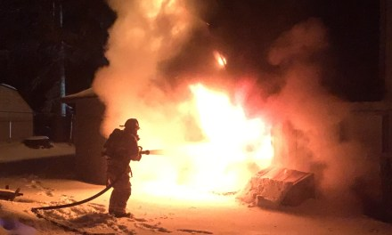 Big Bear Lake Residence Burns Early Thursday Morning