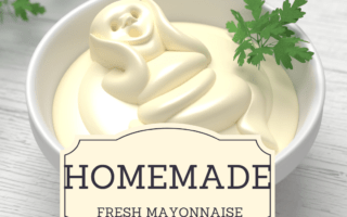 How To Make a homemade Bama Mayonnaise.