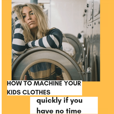 how to make your washing machine wash soiled clothes faster.