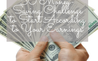 50 Money-Saving Challenge to Start According to Your Earnings
