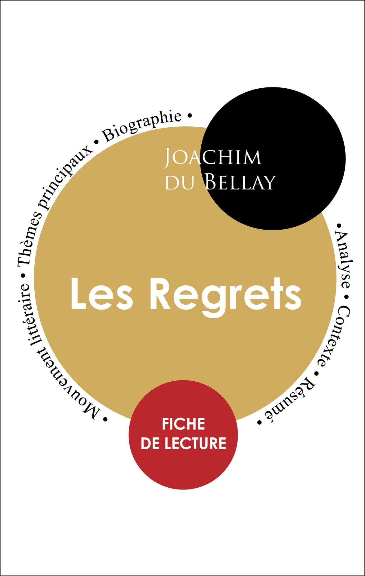 Les Regrets Du Bellay Analyse : regrets, bellay, analyse, Étude, Intégrale, Regrets, Bellay, (fiche, Lecture,, Analyse, Résumé), EBook, Joachim, 1230003279809, Rakuten, United, States