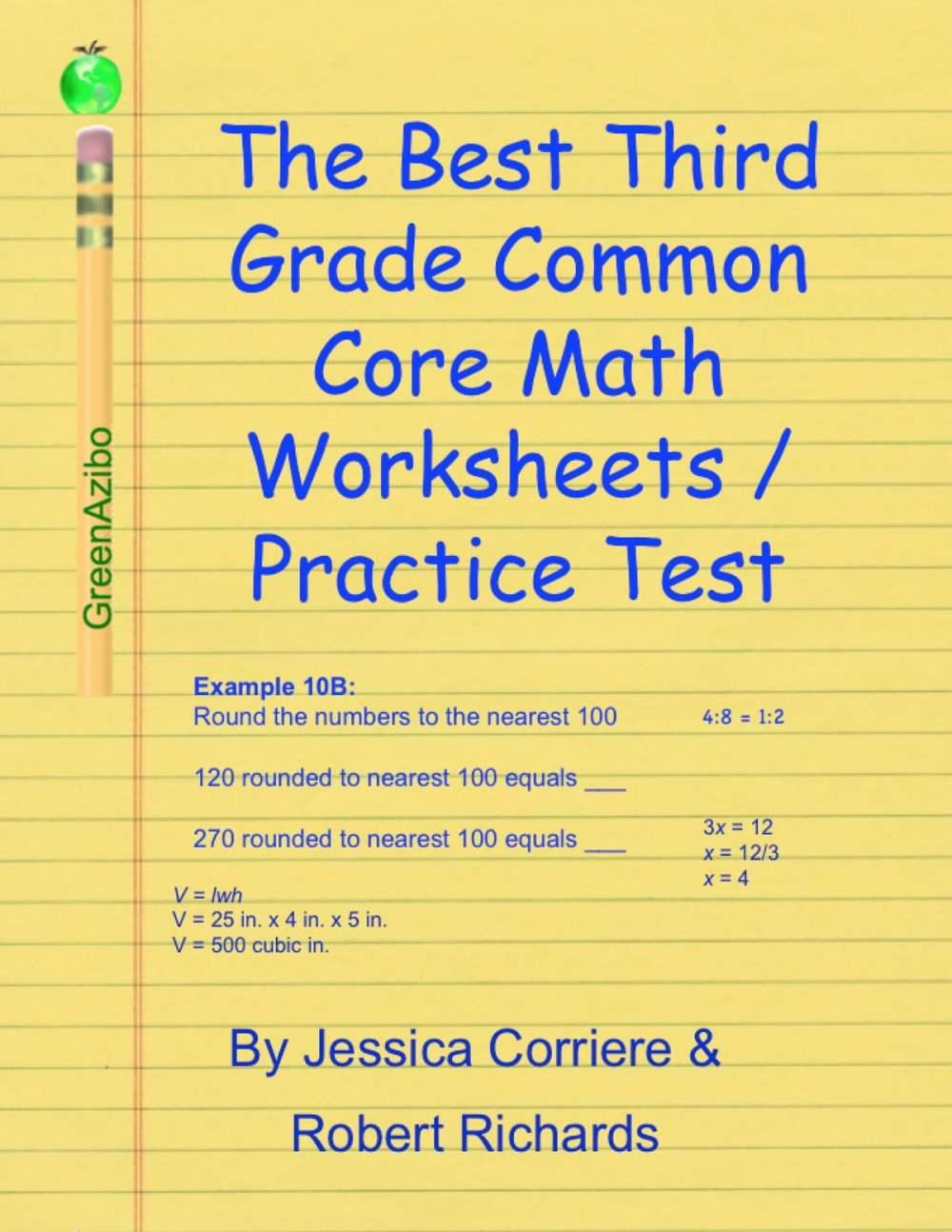medium resolution of The Best Third Grade Common Core Math Worksheets / Practice Tests eBook by  Robert Richards - 9781312098305   Rakuten Kobo United States