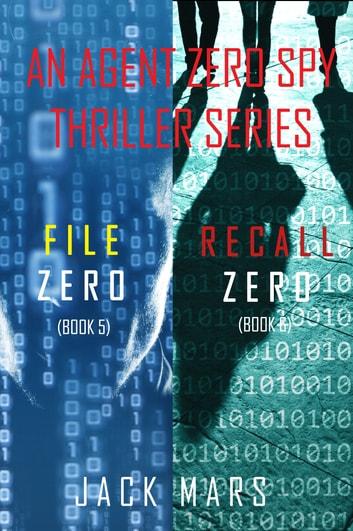 Agent Zero Spy Thriller Bundle: File Zero (#5) and Recall Zero (#6) by Jack Mars Ebook/Pdf Download