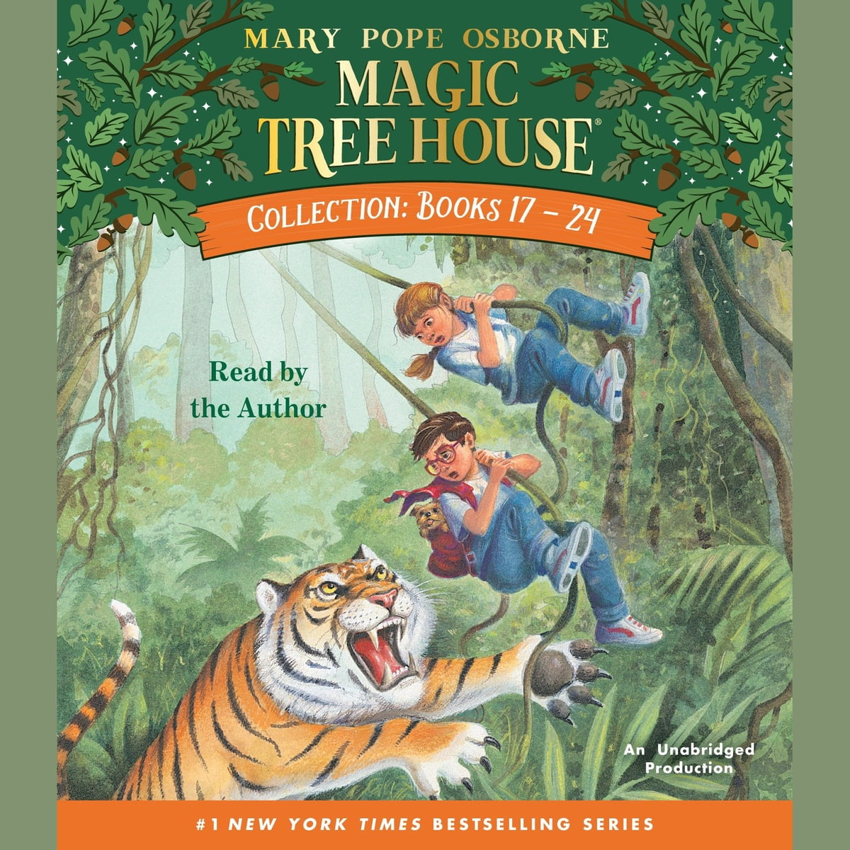 Magic Tree House Collection Books 17 24 Audiobook By Mary