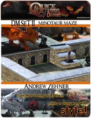 printable 3d dungeon tiles