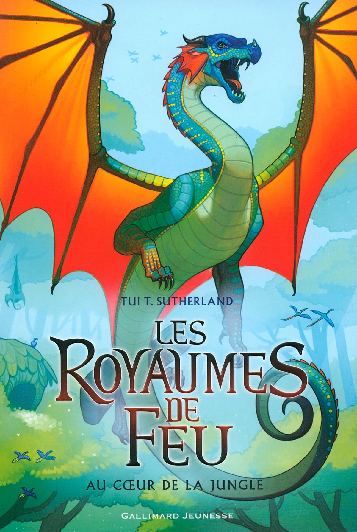 Les Royaumes De Feu Tome 4 : royaumes, Royaumes, (Tome, Cœur, Jungle, EBook, Sutherland, 9782075042581, Rakuten, Canada