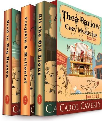 The Thea Barlow Box Set (Three Complete Cozy Mystery Novels) by Carol Caverly Ebook/Pdf Download
