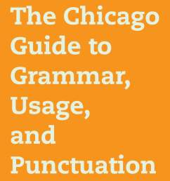 the chicago guide to grammar usage and punctuation ebook by bryan a garner 9780226191294 rakuten kobo [ 1200 x 1707 Pixel ]