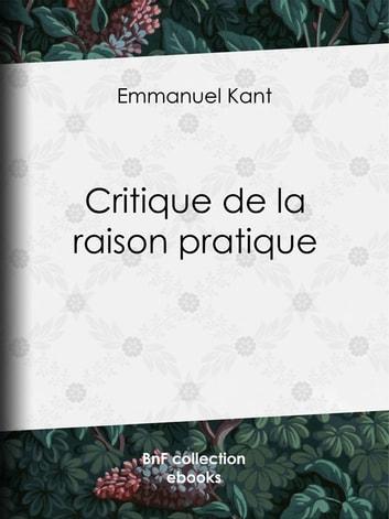 Kant Critique De La Raison Pratique : critique, raison, pratique, Critique, Raison, Pratique, EBook, Emmanuel, 9782346001026, Rakuten, United, States