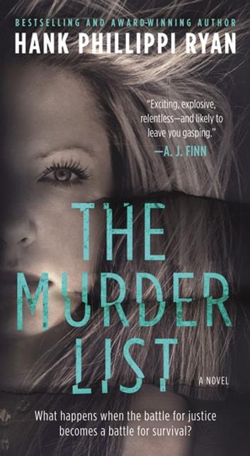 The Murder List by Hank Phillippi Ryan Ebook/Pdf Download