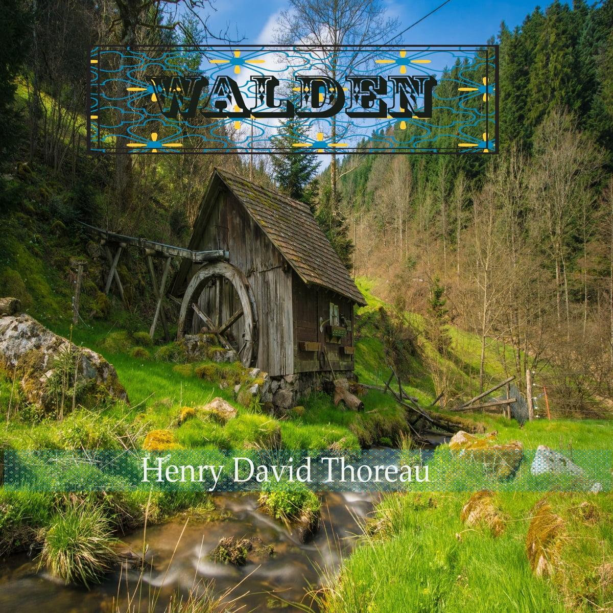 walden by henry david