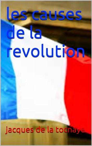 Les causes de la Révolution française - Site de Français