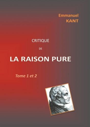 Kant Critique De La Raison Pure : critique, raison, Critique, RAISON, EBook, Emmanuel, 9782322226399, Rakuten, United, States