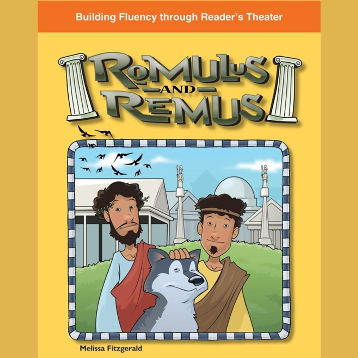 Romulus And Remus Audiobook By Melissa Fitzgerald