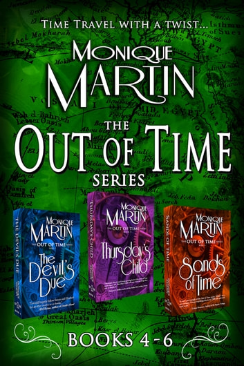 Out of Time Series Box Set II (Books 4-6) by Monique Martin Ebook/Pdf Download