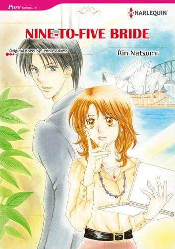 NINE TO FIVE BRIDE Harlequin Comics EBook By Jennie Adams