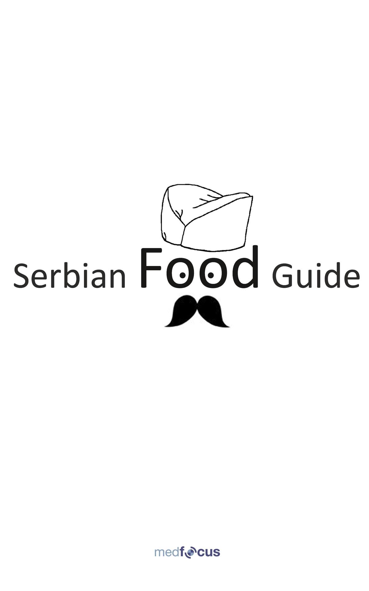 Serbian Food Guide eBook by Vojo Zivojnovic