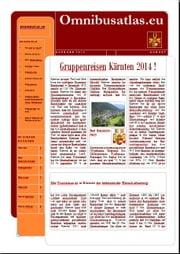 Gruppenreisen Kärnten 2014 omnibusatlas.eu
