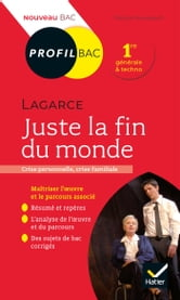 Juste La Fin Du Monde Avis : juste, monde, Profil, Lagarce,, Juste, Monde, EBook, Florian, Pennanech, 9782401074200, Rakuten, France