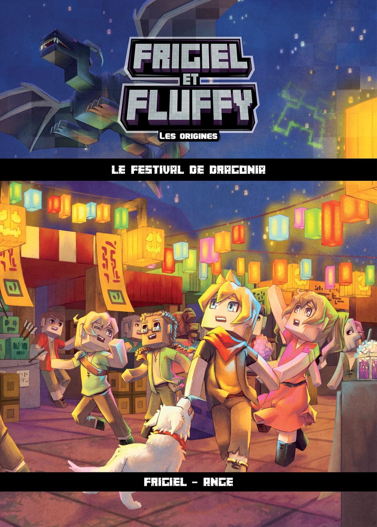 Vidéo De Frigiel Et Fluffy Saison 4 : vidéo, frigiel, fluffy, saison, Frigiel, Fluffy,, Origines, Festival, Dragonia, Lecture, Roman, Jeunesse, Aventures, Minecraft, Rakuten, Zealand