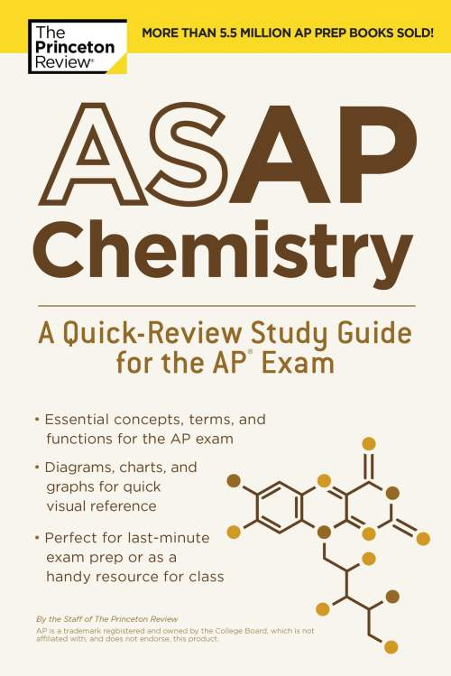 small resolution of asap chemistry a quick review study guide for the ap exam ebook by the princeton review 9780525567783 rakuten kobo