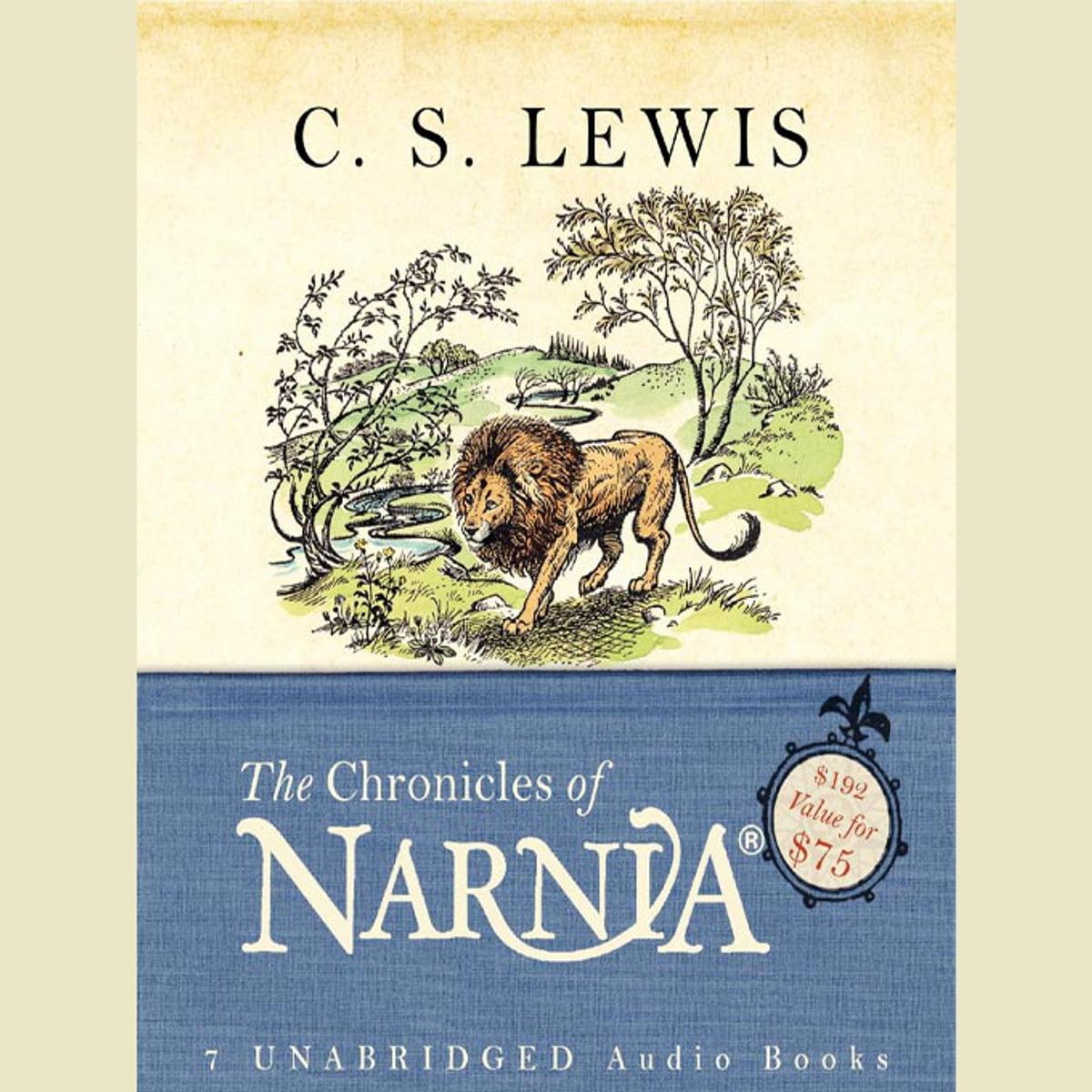 The Chronicles of Narnia Adult Box Set Audiobook by C. S. Lewis - 9780061999888   Rakuten Kobo