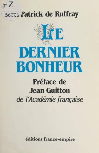 Je Ne Meurs Pas J'entre Dans La Vie : meurs, j'entre, Livre, Numérique, Dernier, Bonheur, édition, Www.chapters.indigo.ca