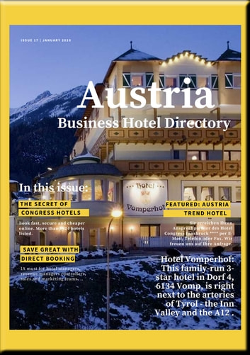 ÖSTERREICH BUSINESS HOTEL VERZEICHNIS - BUSINESS HOTEL DIRECTORY OF AUSTRIA eBook by Heinz Duthel