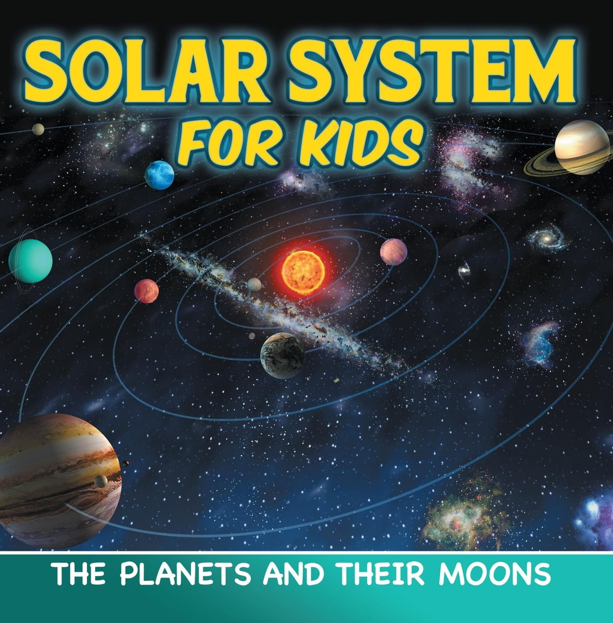 Solar System For Kids The Planets And Their Moons Ebook