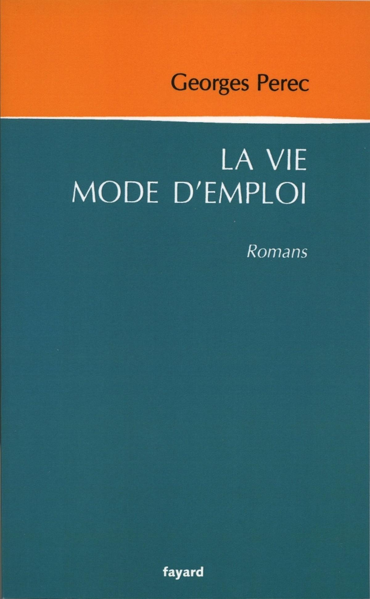 Perec La Vie Mode D'emploi : perec, d'emploi, D'emploi, EBook, Georges, Perec, 9782213674063, Rakuten, United, States