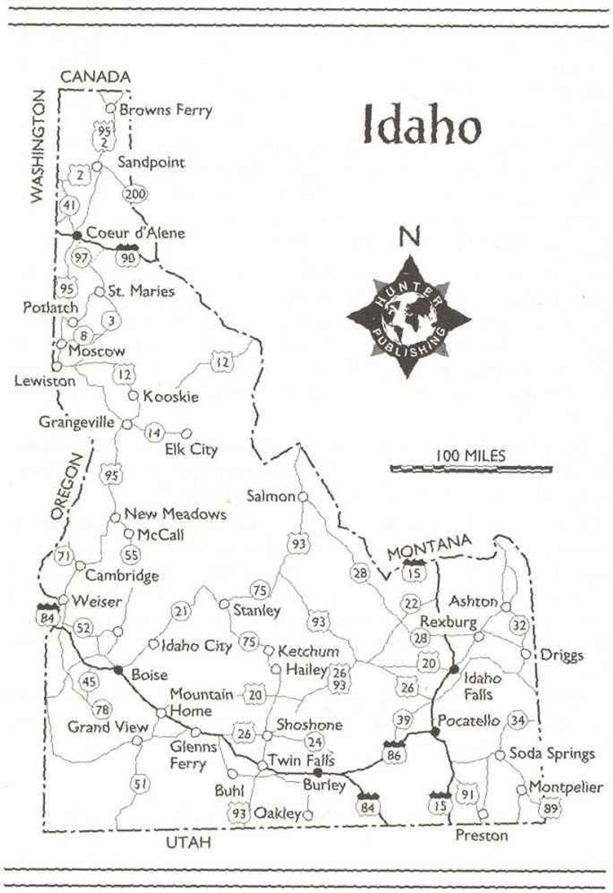 Idaho Adventure Guide eBook by Rowles Genevieve