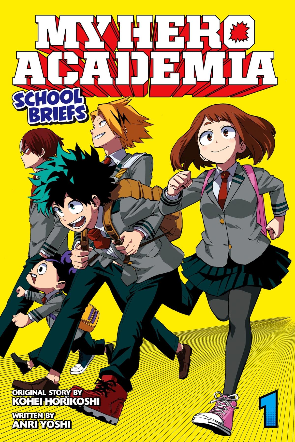 My Hero Academia Vol. 1 : academia, Academia:, School, Briefs,, EBook, Yoshi, 9781974710690, Rakuten, United, States