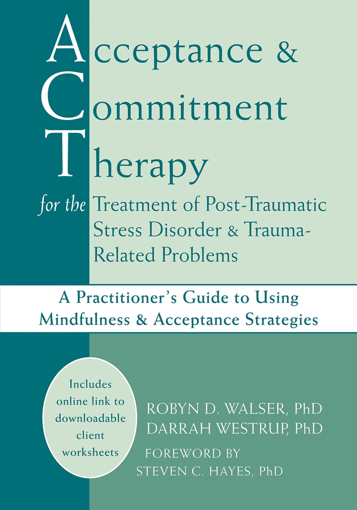 Acceptance And Commitment Therapy For The Treatment Of