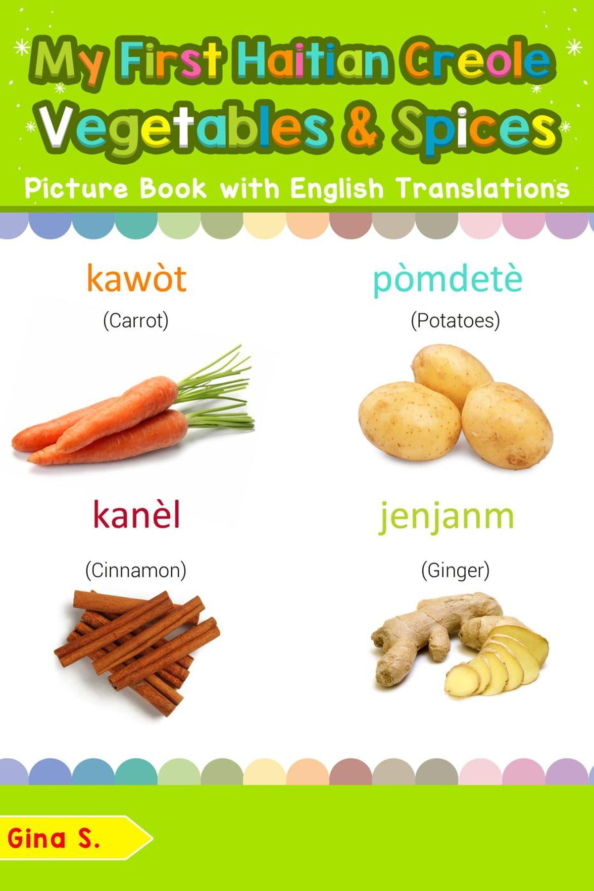 Haitian First Names : haitian, first, names, First, Haitian, Creole, Vegetables, Spices, Picture, English, Translations, EBook, 9781724383709, Rakuten, Greece