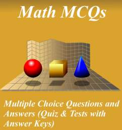 Grade 6 Math Multiple Choice Questions and Answers (MCQs): Quizzes \u0026  Practice Tests with Answer Key (6th Grade Math Quick Study Guide \u0026 Course  Review) eBook by Arshad Iqbal - 9781310963148   [ 1923 x 1200 Pixel ]