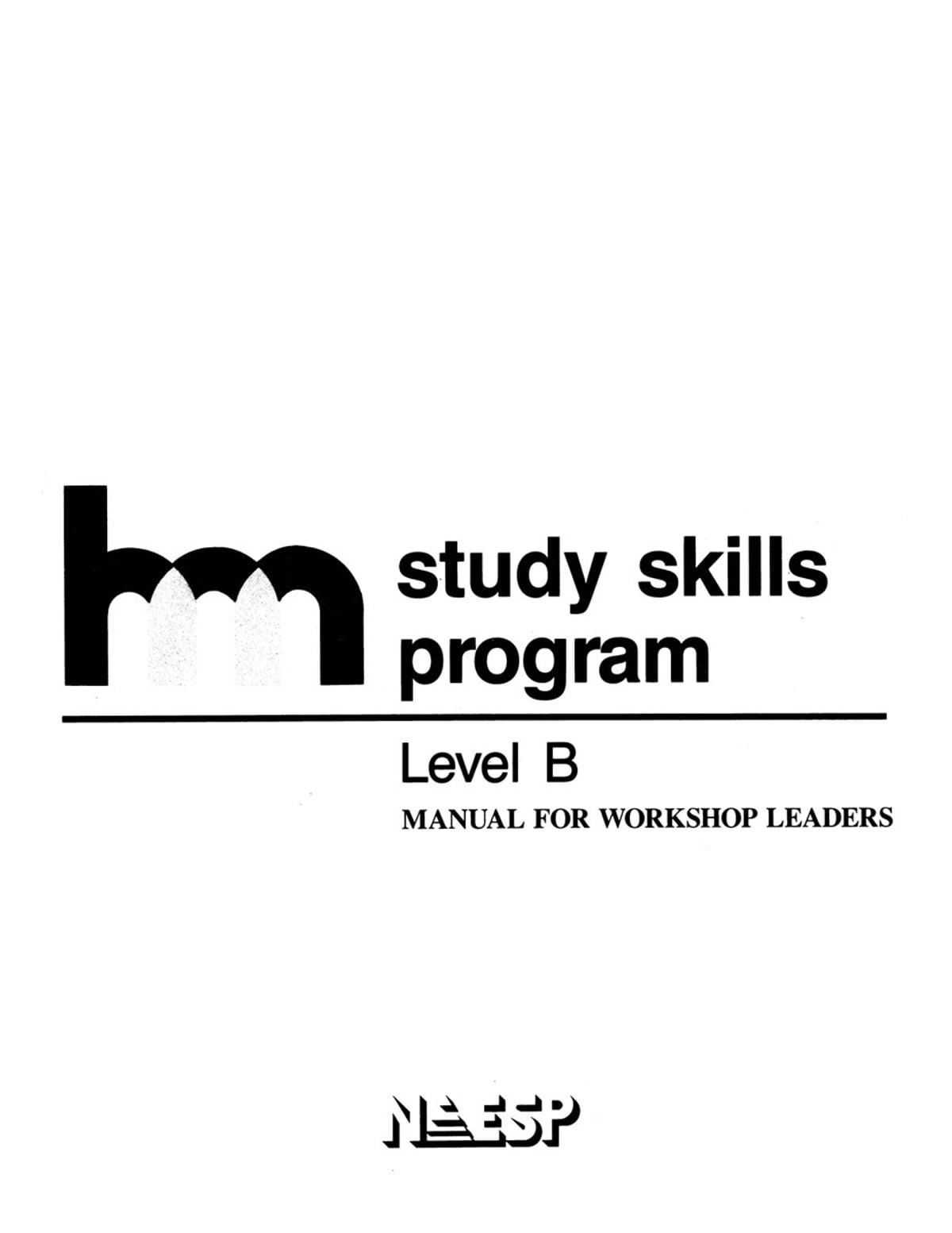 HMS Level B Manual Wkshop Lea eBook by , Study Skills