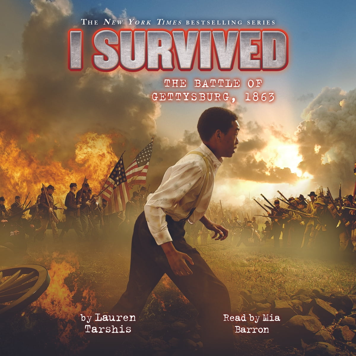 I Survived 07 I Survived The Battle Of Gettysburg Audiobook By Lauren Tarshis