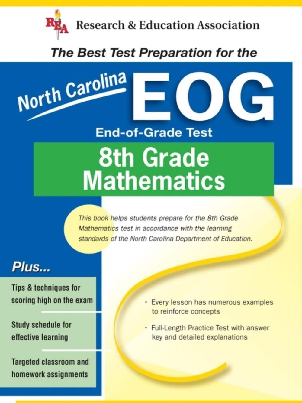 medium resolution of North Carolina EOG Grade 8 Math eBook by Stephen Hearne - 9780738668505    Rakuten Kobo United States