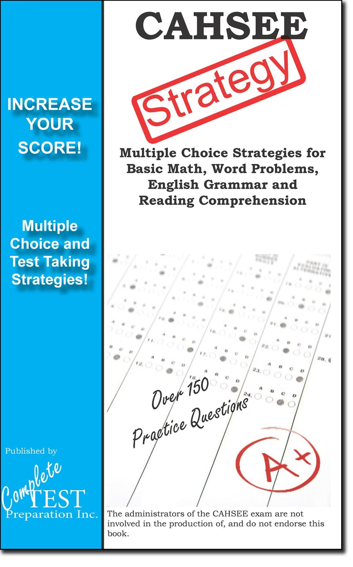 Cahsee Test Strategy Ebook By Complete Test Preparation Inc
