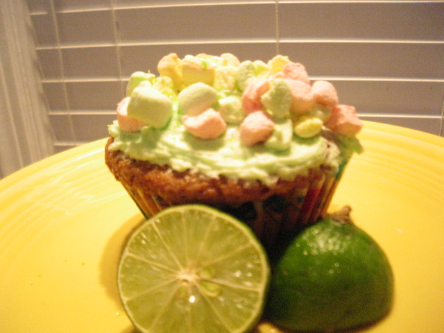Marshmallow MermaidCupcakes