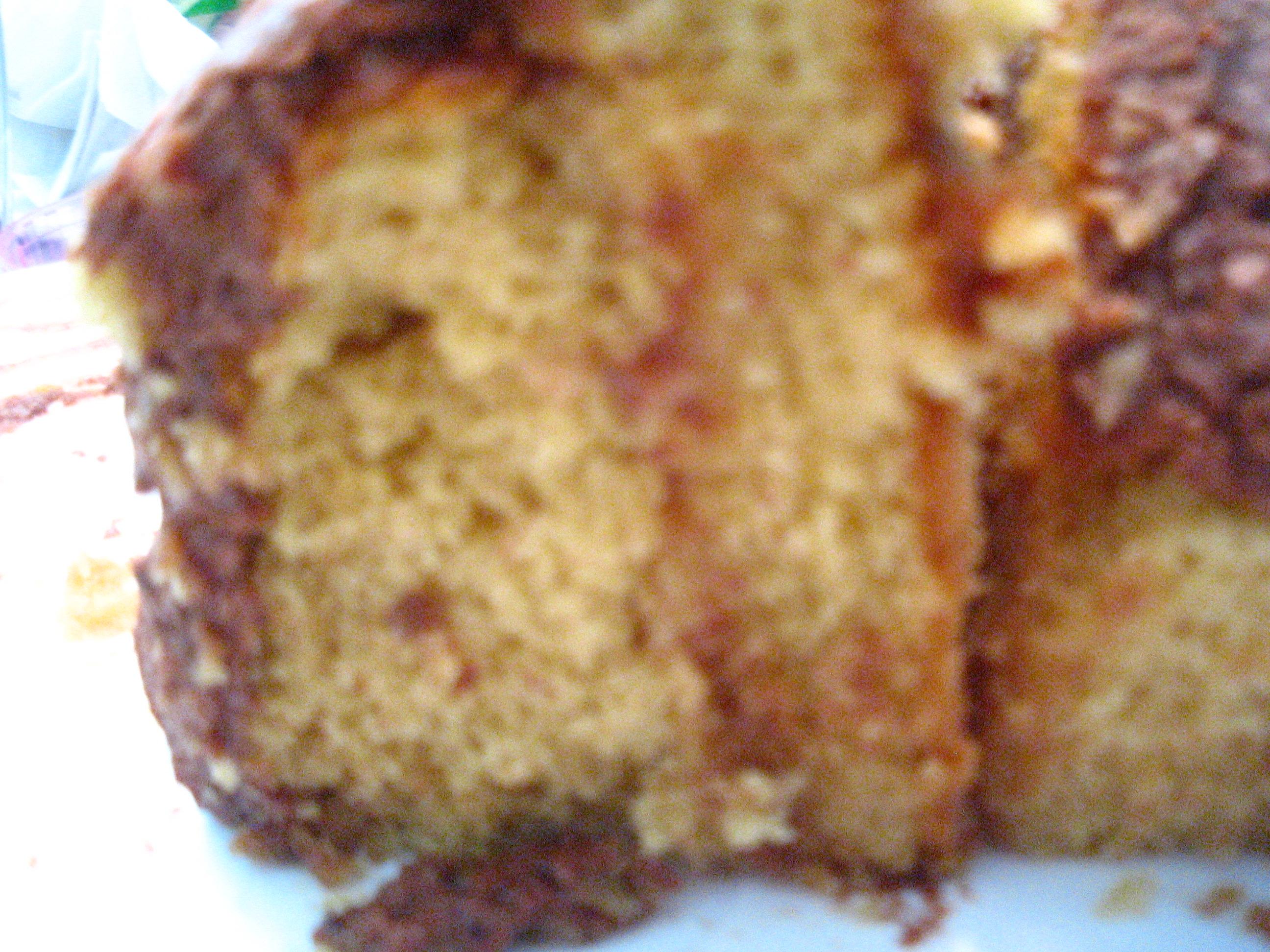 PB Cake close up