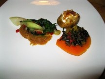 An hors d'oeuvres plate