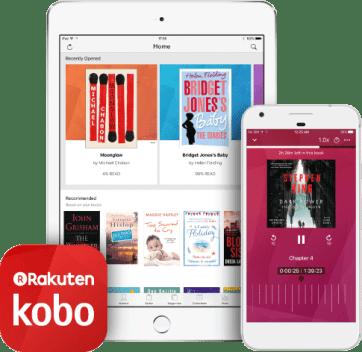 Image result for kobo audiobooks