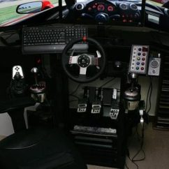 Racing Simulator Chair Plans Country French Chairs Build Guide Entry Level Sim Setup Kbmod Com