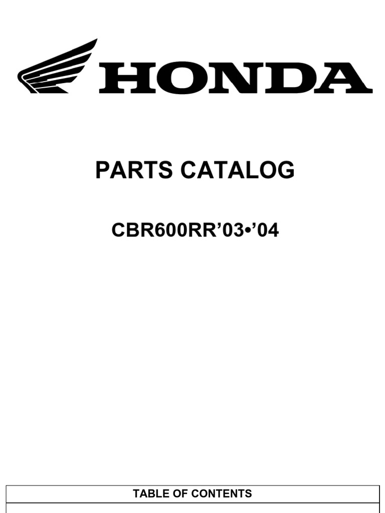 Honda cbr 600 rr 2005 service manual free download