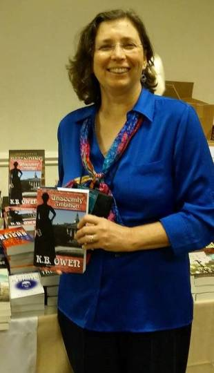My books for sale at BoucherCon.