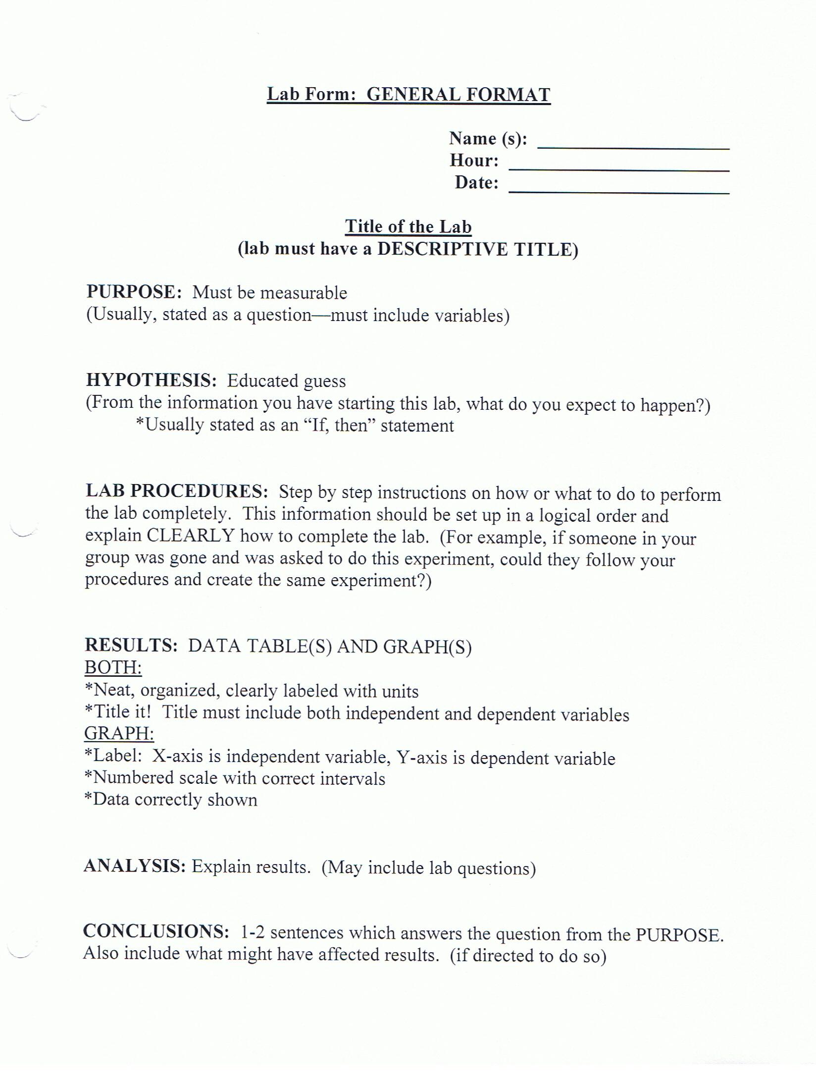 Lab Paper Format Hizli Rapidlaunch Co