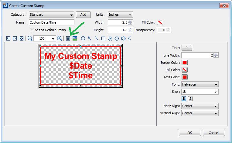 Custom Adobe Stamps Templates